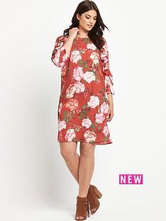 so-fabulous-frill-sleeve-shift-dress