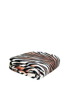 catherine-lansfield-animal-print-raschel-throw-tiger