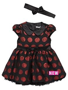 ladybird-ladybird-baby-girls-spot-dress-with-headband