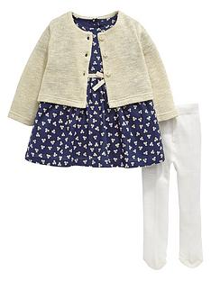 ladybird-baby-girls-cardigan-floral-dress-and-tights-set-3-piece