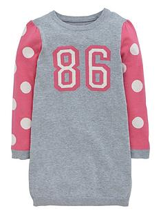 ladybird-toddler-girls-knitted-86-slogan-dress-12-months--7-years