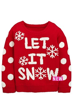 ladybird-toddler-girls-christmas-039let-it-snow039-jumper-1-7-years