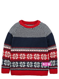 ladybird-boys-christmas-fairislenbspjumper-12-months-7-years