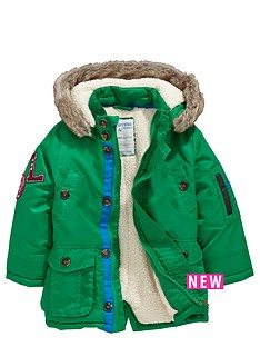 ladybird-toddler-boys-green-fur-trim-parka-with-borg-lining-1-7-years