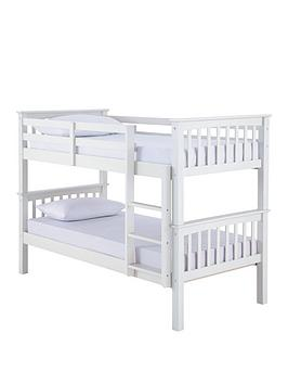 Novara Detachable Bunk Bed With Mattress Options (Buy And Save!) - Bunk Bed Frame With 2 Standard Mattresses