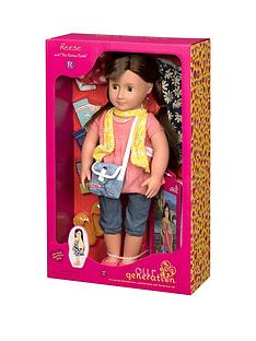 our-generation-reese-doll-with-book