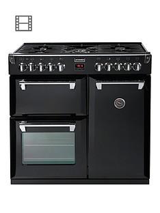 Stoves Richmond 900DFT 90cmWide Dual Fuel Range Cooker - Black