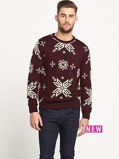 goodsouls-snowflake-mens-christmas-jumper