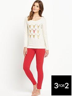 sorbet-gift-wrapped-reindeer-pyjamas-set