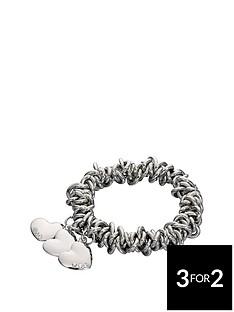 fiorelli-scrunchie-style-3-heart-charm-bracelet