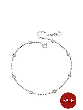 the-love-silver-collection-sterling-silver-flower-ankle-chain-with-heart-detail