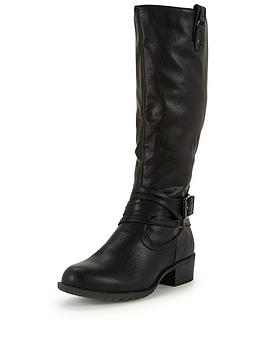 shoe-box-block-heel-casual-strappy-knee-boot