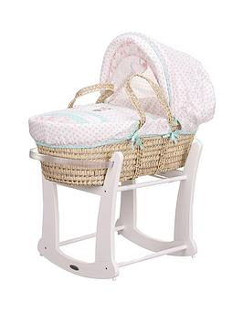 minnie-mouse-moses-basket-and-rocking-stand