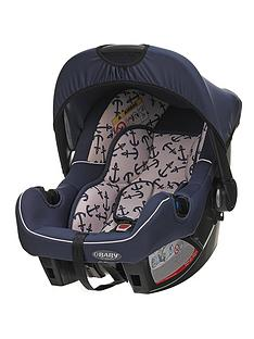 Obaby Group 0+ Car Seat - Little Sailor
