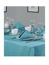 Linen Look Oblong Table Linen Set (8 Place Settings)
