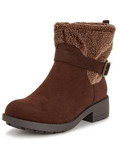 rocket-dog-terrina-faux-shearling-buckle-ankle-boot