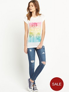 south-tropical-neppy-fabric-boyfriend-t-shirt