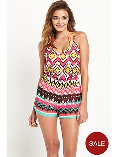 lipsy-michelle-keegan-tribal-playsuit