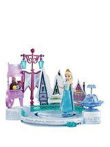 Small Doll Elsa and Ice Skating Rink