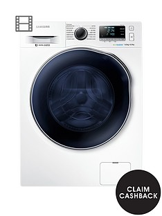 samsung-wd90j6410aw-9kg-wash-1400-spinnbsp6kg-dry-washer-dryer-with-ecobubbletrade-technology-next-day-delivery-white