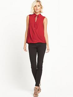 river-island-collared-tie-neck-blouse