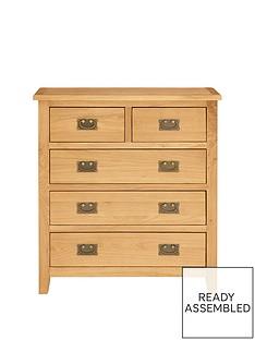 london-ready-assembled-3-2-drawer-solid-oak-chestnbsp