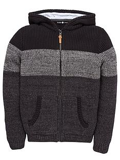 demo-boys-colour-block-knitted-hoodie