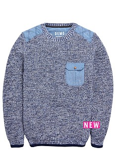 demo-crew-neck-cut-and-sew-patch-knit