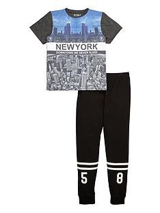 demo-boys-new-york-down-townnbsppyjamas-setnbsp