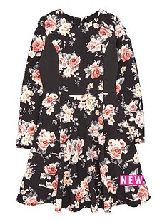 freespirit-long-sleeve-floral-prom-dress