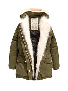 freespirit-girls-parka-with-faux-fur-trim