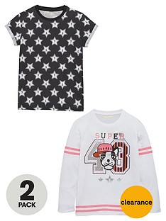 freespirit-girls-dog-and-star-t-shirts-2-pack