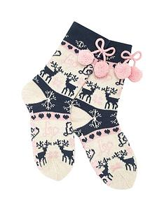 lipsy-lipsy-fairisle-slipper-socks