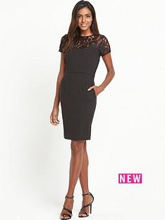 v-by-very-lace-yoke-shift-dress