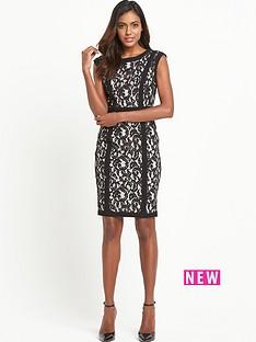 v-by-very-lace-panel-dress