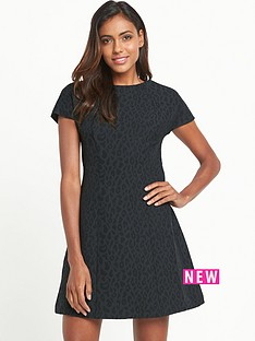 south-animal-jacquard-a-line-dress