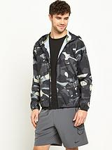 Nike RU Packable Camo Windrunner