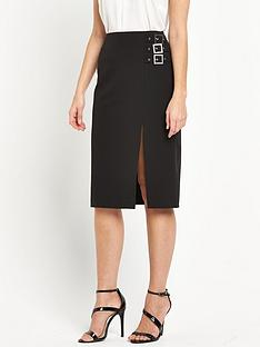 miss-selfridge-miss-selfridge-buckle-pencil-skirt