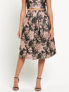 miss-selfridge-jacquard-midi-skirt