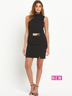 miss-selfridge-barbara-high-neck-wrap-dress