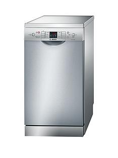 Bosch Serie 6 SPS53M08GB 9-Place 45cm Slimline Dishwasher with ActiveWater™ Technology - Silver Best Price, Cheapest Prices