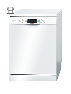 Bosch SMS69M22Gb 13-Place Dishwasher - White