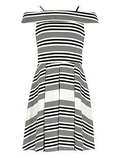 river-island-girls-stripe-bardotnbspdress