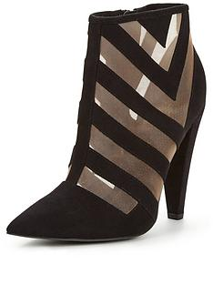 paper-dolls-mesh-detail-ankle-boot