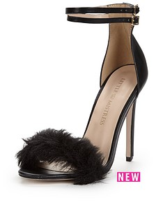 little-mistress-feather-two-part-sandal