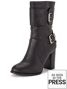 shoe-box-saskianbspbuckle-detail-block-heel-calf-bootnbsp