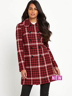 v-by-very-checked-print-double-breasted-coat