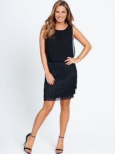 samantha-faiers-fringe-skirt-dress