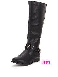 so-fabulous-tyra-stud-detail-knee-boot-back-elastic-black-wide-fit