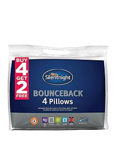 Silentnight Bounceback Pillows – Buy 4 Get 2 FREE
